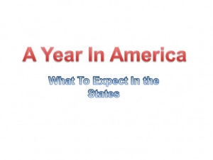 Foundation A Year In America High School Year Abroad Student Exchange