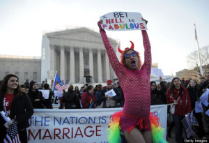 The Funniest Prop 8 Protest Signs (PHOTOS)