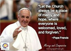 Pope Francis Quotes on Mercy and Compassion