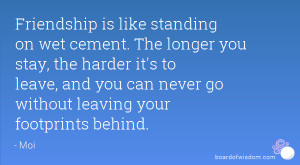 Quotes About Friends Leaving You