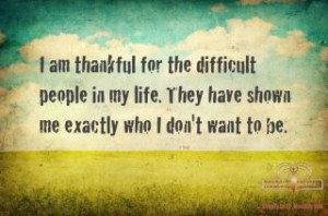 about dealing with difficult people ...