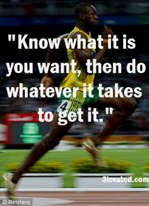 usain bolt inspirational sports quotes