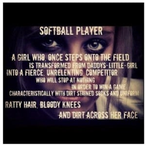Teen Softball Quotes Pictures