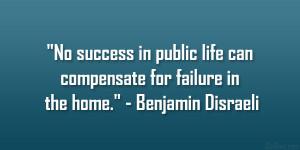 Benjamin Disraeli Quote