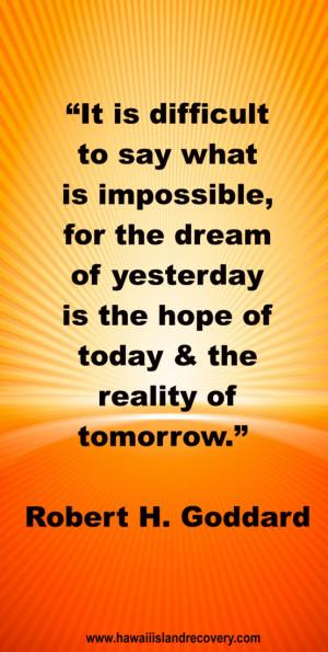 Inspirational Quote. www.hawaiiislandrecovery.com