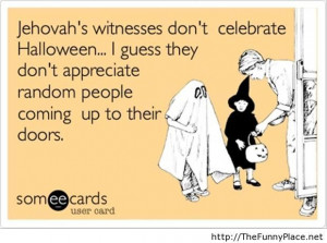 Halloween funny someecards messsage
