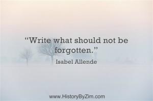 In Their Words – Isabel Allende