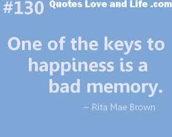 One The Keys Happiness Bad Memory