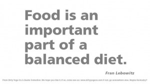 Fran Lebowitz - Dirty Yoga 30 #quotes