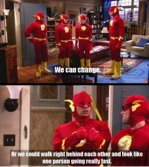 big bang theory, boy, flash, funny, kunal nayyar, raj koothrappali ...