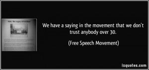Famous Quotes About Free Speech