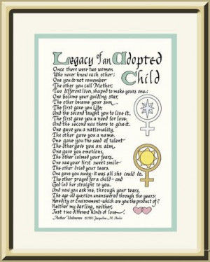 inspirational quotes for adopted children | Personalized gift for ...