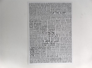 Leadership quotes poster