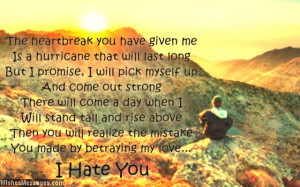 Hate You Messages for Ex-Girlfriend: Hate You Quotes for Her