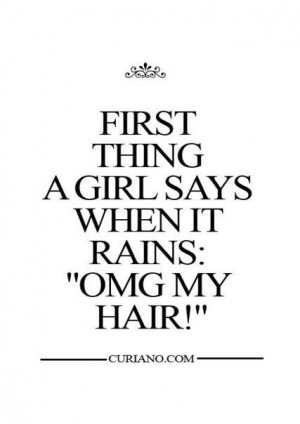 beauty, city, funny, girl, hair, haircut, life, quotes, rain, smile ...