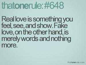 quotes about false love