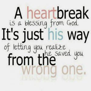 God is the Healer of broken hearts.