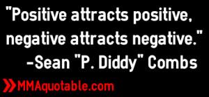 ... , negative attracts negative.