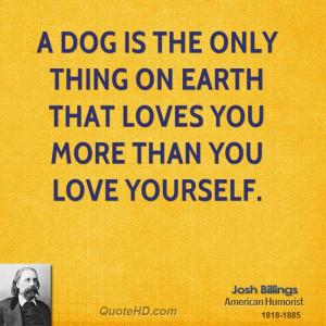 Josh Billings Pet...