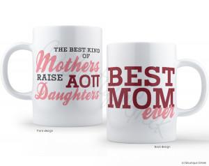 AOII Best Mom Mug