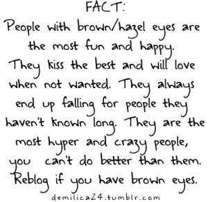 Brown Eyed Girl Quotes I'm that brown eyed girl!