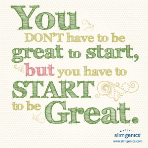 Great quote from our client @SlimGenics Weight Loss Weight Loss.