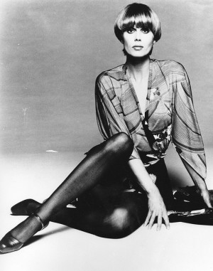 Vintage Photograph: Joanna Lumley: Actor
