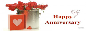 happy anniversary red rose bouquet fb, happy anniversary quotes ...