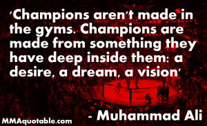 Motivational and Inspirational Quotes by the legendary boxer Muhammad ...