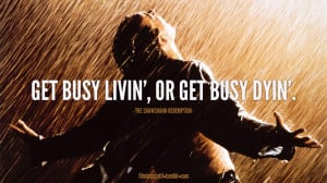 Quote from The Shawshank Redemption