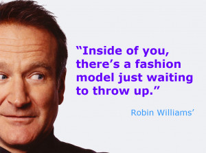 Robin Williams Inspirational Quote