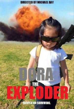 dora the explorer, funny pictures