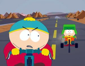 cartoons south park roads eric cartman kyle broflovski 3300x2550 ...