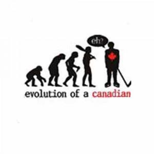 sports hockey evolution of a canadian hockey t shirt