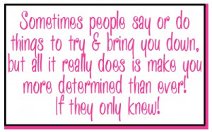 If They Only Knew. . .