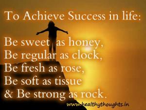 Success Quotes : To Achieve Success in Life…