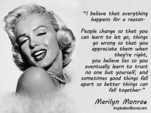 Marilyn Monroe quotes and sayings