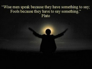 Wise men and Fools