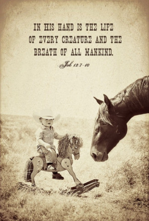 Cowboy kid with his horse! Adorable Country Boy!