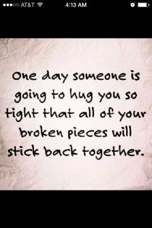 Hugs are healing!