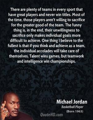Team Sport Quotes