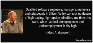 Qualified software engineers, managers, marketers and salespeople in ...