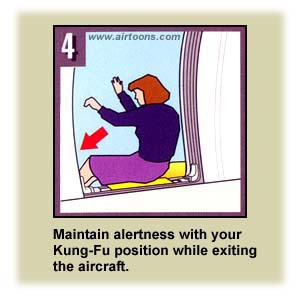 Airline Safety Card - kungfu