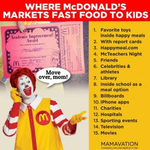 How McDonalds advertizes to children #Momsnotlovinit #shiftcon # ...