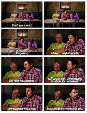 shawn spencer #henry spencer #Psych #shawnspencerquotes