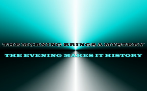 Morning Sun - Robbie Williams Song Lyric Quote in Text Image