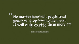 Quotes About How People Treat You Badly