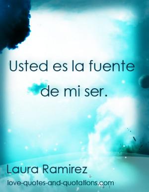 Spanish Love Quotes on