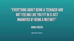 Showing Gallery For Quotes About Being A Teenager