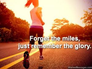 Inspirational Marathon Quotes: Motivational Good Luck Messages